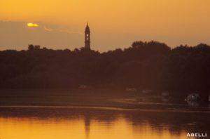 abelli tramonto oltrepo pavese fiume chiesa