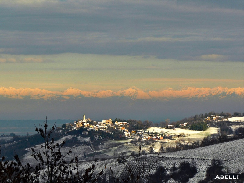 inverno oltrepo pavese colline innevate pavia